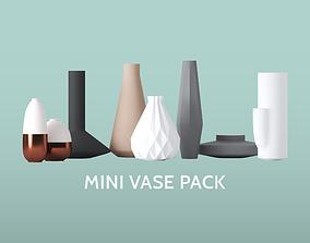 3D model Mini Vase Pack