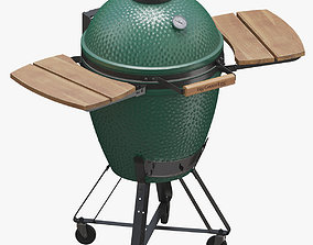 Big Green Egg 3D