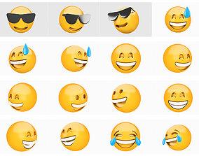 3D model Emoji collection 5