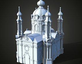 3D print model Saint Andrews Church in Ukraine