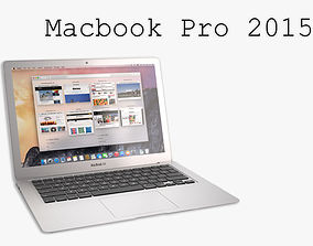 The New MacBook Pro 2015 3D model mac
