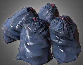 GEN - Trashbag Set 2 - PBR Game Ready 3D model