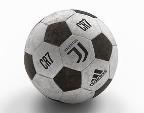 Ball Juventus Cristiano Ronaldp 3D model