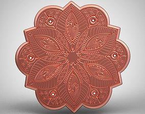 3D print model Tattoo Style Ornament