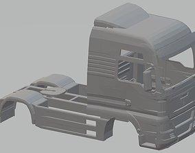 Man TGX V8 Printable Body Truck