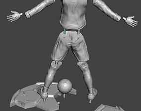 Cristiano Ronaldo na Juventus 3D printable model