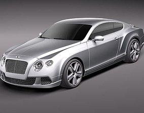 3D Bentley Continental GT 2012 midpoly