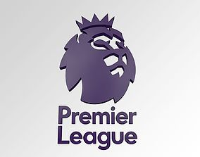 realtime Premier League FC Football Club 3D Logo