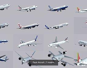 3D model Pack Aircraft