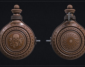 3D model Flask