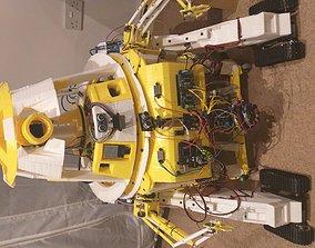 Printable full robot Astromech style