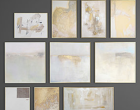 3D Collection of paintings Set 1