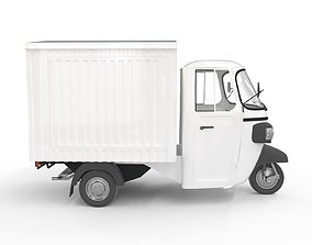 3D model Tuk-Tuk Freight