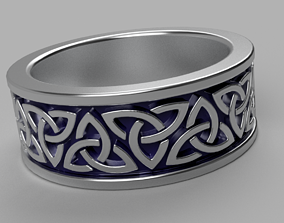 Celtic Ring 1 3D print model