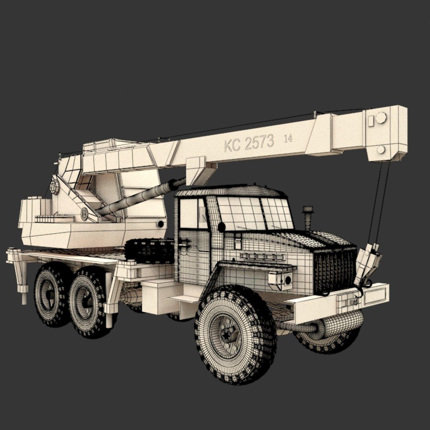 KS 2573 Auto Crane