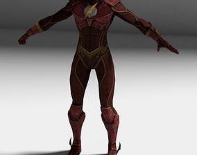 3D model animated Flash