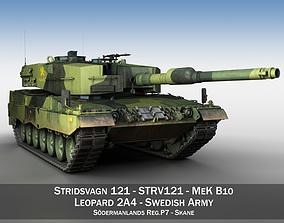 3D model Stridsvagn 121 - Mek B10 - Swedish Army