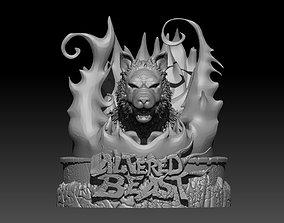 Altered Beast Werewolf bust 3D print model