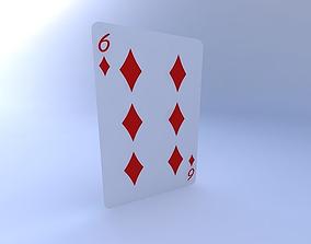 3D Six of Diamonds