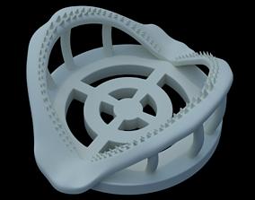 Shark Jaw Coaster 3D print model