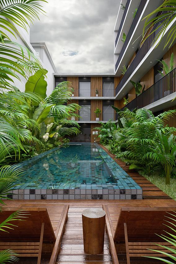 Hotel Villa Amazonia - Architectural Visualization