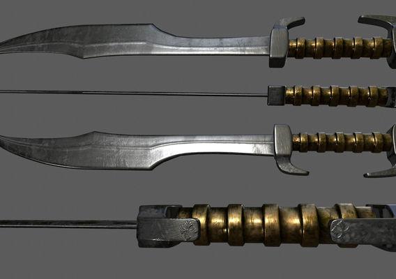 300 spartan sword