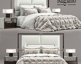 3D model Rugiano Grace bed