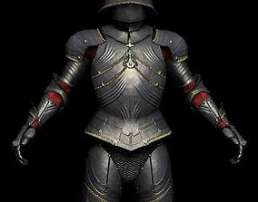 3D model Medieval Gothic Armor