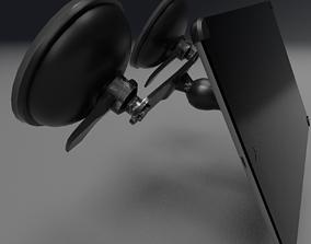 Aircraft Electronic Flight Bag EFB Tablet with 3D asset 2