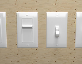 Light Switch US 3D model