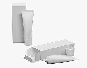 Tube 30ml and Box 02 3D model