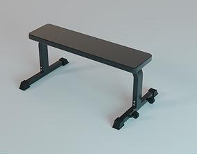 3D Heavy Duty Flat Bench - Gym Equipment
