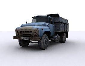 3D asset truck USSR Kraz