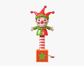 3D model Clown in a Box