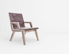 3D model Acanto armchair