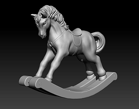 3D print model Horse rocking