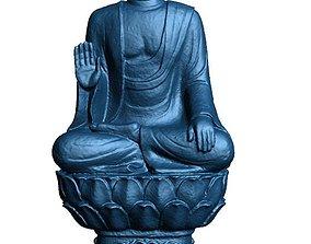 Buddha statue art 3D print model