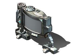 Future World - Advertising Sign 01 3D model
