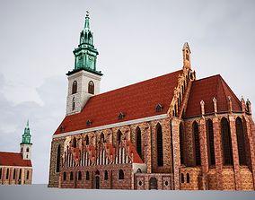 3D model Church Saint Mary