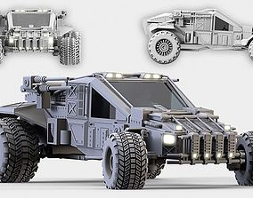 3D Military Buggy