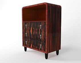 3D Art Deco commode - France 1920 artium