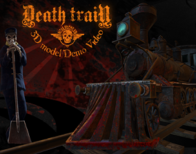 3D asset Death Train