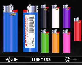 Lighters 3D model