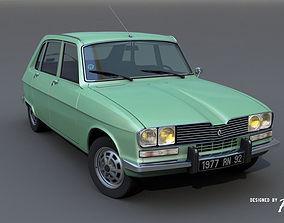 3D Renault 16 TX - 1977