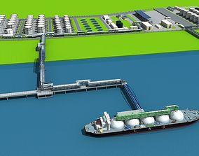 3D LNG Port