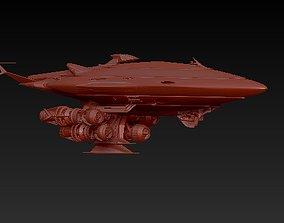 Gallactic Cruiser 3D printable model