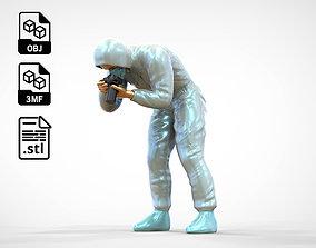 3D printable model N1 CSI Investigation crew photographer