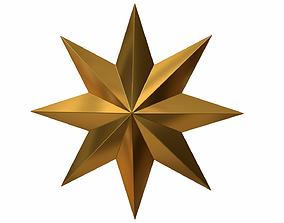 3D model PBR Christmas Star