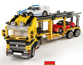 3D Lego car transporter