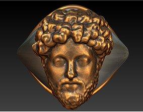 3D print model Bronze silver Marcus Aurelius mensring
